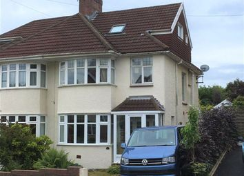 Thumbnail 5 bed semi-detached house for sale in Harlech Cresent, Sketty, Swansea