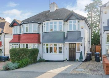 Thumbnail 3 bed semi-detached house for sale in Kenmore Road, Kenley, Surrey