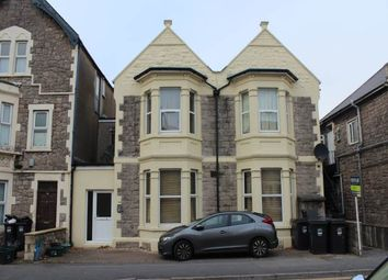 Thumbnail 1 bedroom flat to rent in Walliscote Road, Weston-Super-Mare, North Somerset
