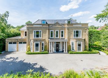 Thumbnail 6 bed detached house for sale in Stokesheath Road, Oxshott