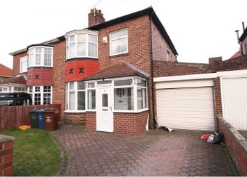 Thumbnail 3 bed semi-detached house for sale in Kingsway, Fenham, Newcastle Upon Tyne