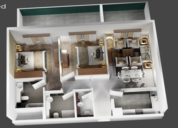 Thumbnail 2 bed apartment for sale in Jumeirah Village Circle - Dubai - United Arab Emirates