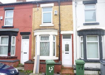 Thumbnail 2 bed terraced house to rent in Yelverton Road, Birkenhead