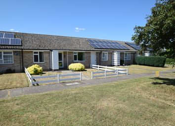 Thumbnail 2 bed terraced bungalow for sale in Forge End, Fornham All Saints, Bury St. Edmunds