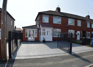 Thumbnail 2 bed end terrace house for sale in Heristone Avenue, Denton, Manchester