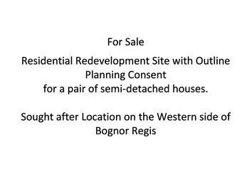 Thumbnail Land for sale in Southdown Road, Bognor Regis