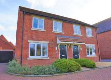 Thumbnail 3 bed semi-detached house for sale in Ash Way, Didcot