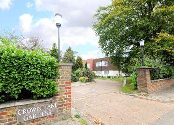 Thumbnail 2 bed flat to rent in Crown Lane Gardens, Crown Lane, London