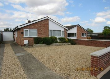 Thumbnail 3 bed detached bungalow to rent in Westbourne Park, Bourne, Lincolnshire