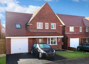 "Thumbnail 4 bed detached house for sale in ""Harrogate"" at Aintree Road, Corby"
