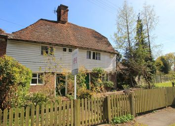 Thumbnail 2 bed terraced house for sale in Providence Cottages, Angley Road, Cranbrook, Kent