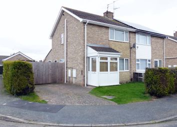 Thumbnail 3 bed semi-detached house for sale in Pullan Close, Lincoln