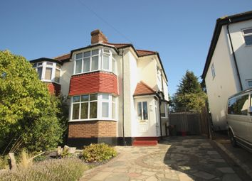 Thumbnail 3 bed semi-detached house for sale in Warren Drive, Chelsfield