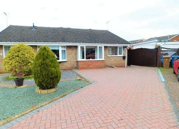 Thumbnail 3 bed semi-detached bungalow for sale in Woodleyes Crescent, Stafford