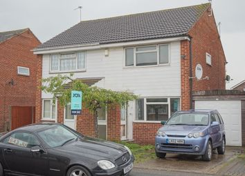 Thumbnail 2 bed semi-detached house for sale in Archer Close, Leicester
