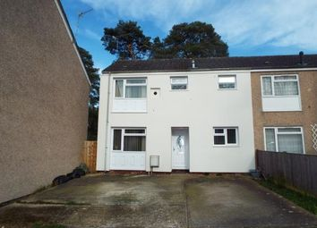 Thumbnail 3 bedroom end terrace house for sale in Chisholm Close, Southampton