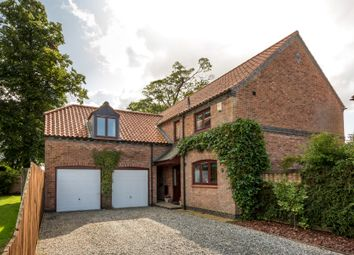Thumbnail 4 bed detached house for sale in Hallgarth, Alne, York