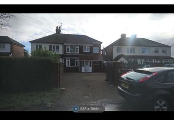 Thumbnail 4 bed semi-detached house to rent in Church Lane, Woodford, Stockport
