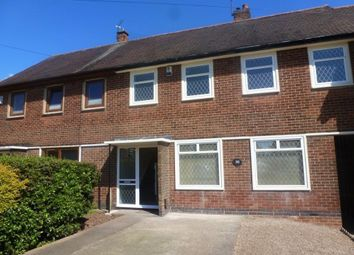 Thumbnail 4 bed terraced house to rent in Canterbury Street, Chaddesden, Derby