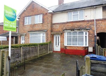 Thumbnail 2 bed property to rent in Overton Road, Birmingham
