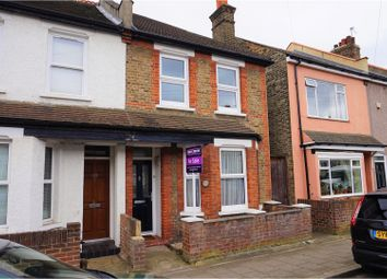 Thumbnail 3 bed semi-detached house for sale in Canon Road, Bromley