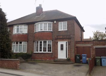Thumbnail 3 bed semi-detached house for sale in Wingfield Avenue, Worksop, Nottinghamshire