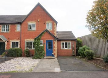 Thumbnail 3 bed end terrace house for sale in Church Lane, Armitage, Rugeley