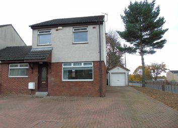 Thumbnail 4 bedroom link-detached house for sale in Glen Avon Drive, Chapelhall, Airdrie