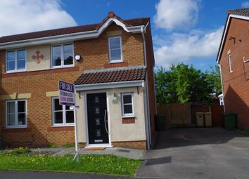 Thumbnail 3 bedroom semi-detached house for sale in Butterwick Fields, Horwich, Bolton