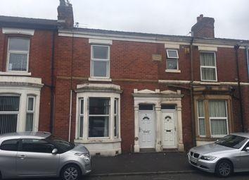 Thumbnail 2 bedroom terraced house for sale in Wellington Road, Ashton-On-Ribble, Preston Lancashire