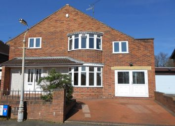 Thumbnail 4 bed detached house for sale in Lawson Road, Wrexham