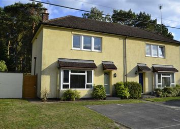 Thumbnail 2 bed semi-detached house for sale in Faircross, Hermitage, Berkshire