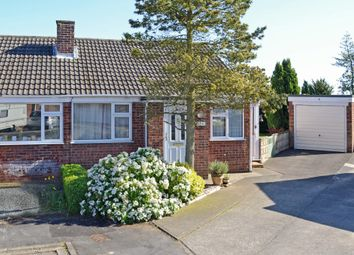 Thumbnail 2 bed semi-detached bungalow for sale in Neville Drive, Bishopthorpe, York
