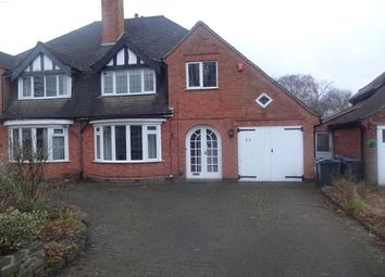 Thumbnail 3 bed property to rent in The Boulevard, Wylde Green, Sutton Coldfield