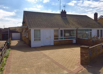 Thumbnail 3 bedroom semi-detached bungalow to rent in Topham Crescent, Thorney, Peterborough