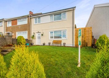 Thumbnail 3 bed semi-detached house for sale in Ash Crescent, Merthyr Tydfil