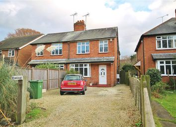 Thumbnail 3 bed semi-detached house for sale in Shaftesbury Road, Bisley, Woking, Surrey