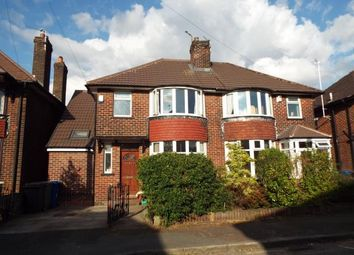 Thumbnail 3 bed semi-detached house for sale in Conway Avenue, Whitefield, Manchester, Greater Manchester