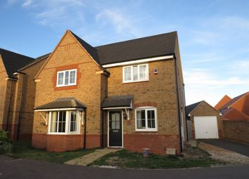 Thumbnail 4 bed detached house for sale in Grant Drive, Corby