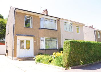 Thumbnail 3 bed semi-detached house for sale in Seil Drive, Croftfoot, Glasgow