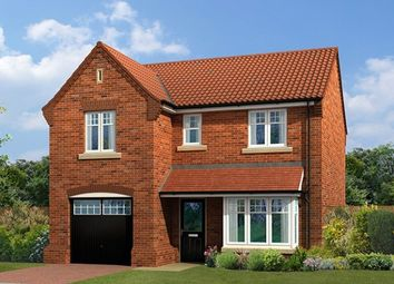"Thumbnail 4 bedroom detached house for sale in ""The Windsor V1"" at Milby, Boroughbridge, York"
