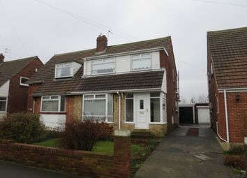 Thumbnail 3 bed semi-detached house for sale in Bamburgh Avenue, South Shields