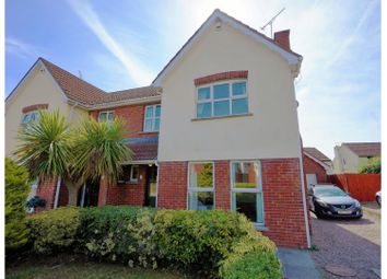 Thumbnail 4 bed semi-detached house for sale in Lord Warden's Green, Bangor
