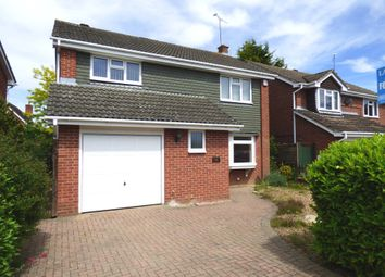 Thumbnail 4 bed detached house for sale in Radcot Close, Woodley