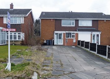 Thumbnail 3 bed semi-detached house for sale in Hilltop Drive, Birmingham, West Midlands