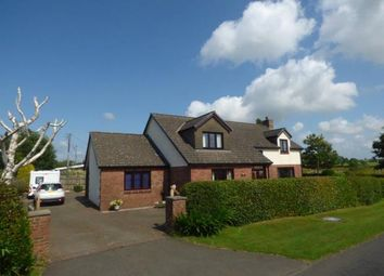 Thumbnail 4 bed detached house for sale in The Orchard, Kirkandrews Moat, Longtown, Carlisle