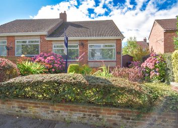 Thumbnail 2 bed semi-detached bungalow for sale in The Rise, Consett