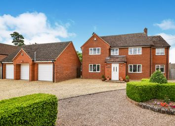 Thumbnail 5 bed detached house for sale in Elm Place, Gooderstone, King's Lynn