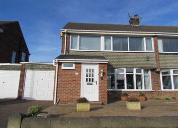 Thumbnail 3 bed semi-detached house for sale in Halton Drive, Wideopen, Newcastle Upon Tyne