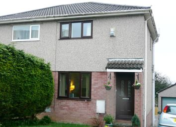 Thumbnail 2 bed semi-detached house to rent in 5 The Hollies, Brackla, Bridgend, Mid. Glamorgan.